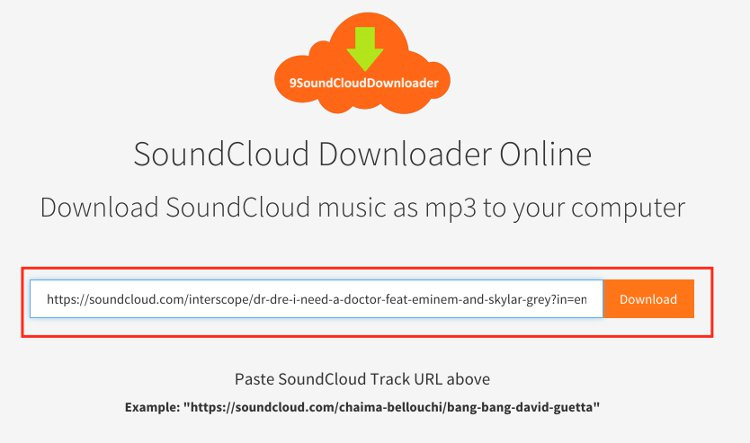 How to Download SoundCloud MP3 music tracks online